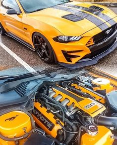 with ROCKING some Grille inserts and side r. by Muscle Mustang 2018, Ford Mustang Car, Mustang Boss, 1973 Mustang, Ford Mustangs, Ford Mustang Wallpaper, Shelby Gt, Pony Car, Sport Cars