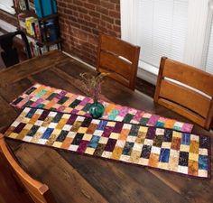 Timeless Treasures Simply Elegant Table Runner Kit http://quilting.myfavoritecraft.org/easy-quilt-patterns/