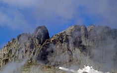 "Mt Olympus - ""Mitikas"" and ""Stefani"" peaks - Macedonia Greece Macedonia Greece, Mount Olympus, Olympians, Mythology, Greek, Mountains, City, World, Places"