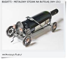 Metalowy stojak na butelkę BUGATTI - Oldtimer