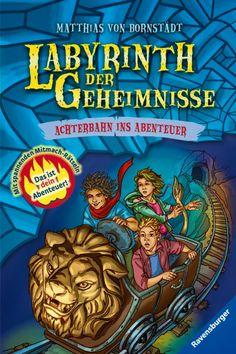 Büchereckerl: Labyrinth der Geheimnisse Bd.1 – Achterbahn ins Abenteuer