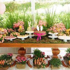 Festa de hoje com o tema Pascoa ! @crisarruy 👏👏👏👏🐰🐰🐰 #easter #pascoa #festainfantil #decor #cake #kitkat #Padgram
