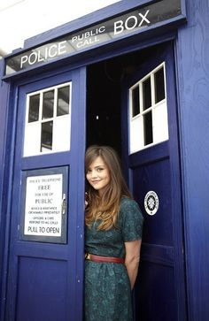 Souffle girl- new companion!!!! jenna-louise coleman, look it up!