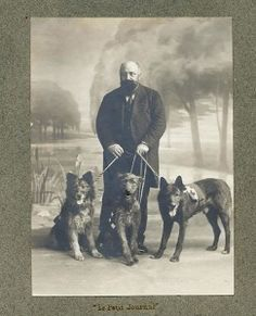 The story of Taki, a Belgian Malinois used as a messenger by the French in WWI. Glad it ends happily :)