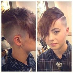 Short Hair Beauty — What do you think of her cut?...