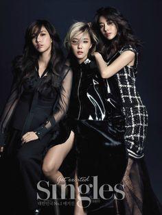 T-ara 티아라 은정 효민 지연 싱글즈 11월호 화보