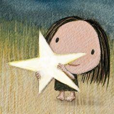 Girl & star