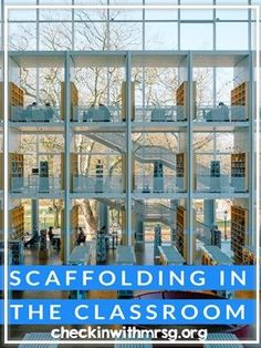 What is scaffolding in teaching? Learn how scaffolding works in education and why it matters. Two free examples of scaffolding built into assignments. Life Skills Classroom, Teaching Social Skills, Teaching Language Arts, Special Education Classroom, Speech And Language, Teaching Tools, Teaching Resources, Memorial Day Activities, Elementary Library
