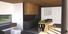 Návrh kuchyne v rodinnom dome - Interier RD, Stupava - Kitchen interior by Archilab
