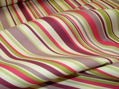 Funky Stars Ticking Stripe 100 Cotton Curtain Upholstery Quilting Fabric | eBay