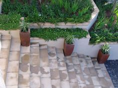 Aerial view of Front Staircase and Window Boxes which are capped with Double Round Edged Flagstone Pavers. Flagstone Pavers, Window Boxes, Best Web, Aerial View, Exterior, Patio, Outdoor Decor, Design