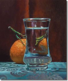 """Jeffrey Hayes, this painting is 6""""x5"""" and beautiful."""