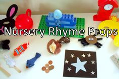 Nursery  rhyme and story Props for Creative Re-Telling or to use when reading story