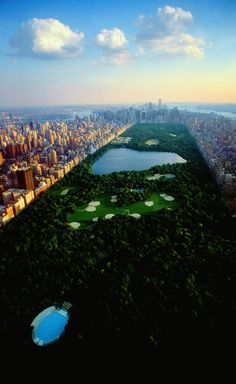 Designed by Frederick Law Olmsted and Calvert Vaux and completed in 1873, Central Park is one of the largest urban parks in the world.