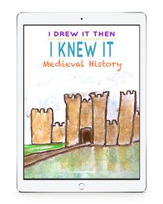 Expand your medieval history studies and make them come alive with chalk pastel art. I Drew It Then I Knew It Medieval Video Art Course! Middle Ages History, History For Kids, Women In History, Ancient History, Native American History, British History, Modern History, Art History, Art Room Doors