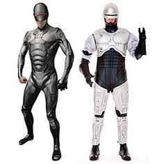 Which is the best Robocop Outfit for Adults? We look at the second skin suit, full costume and helmet with links to lowest prices.