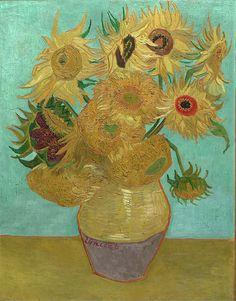 The classic sunflower piece