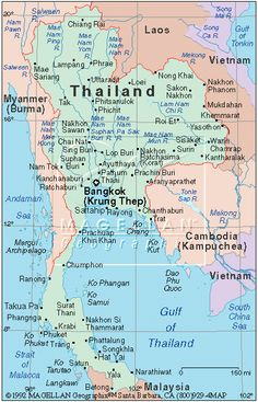 182 Best Maps of Thailand images