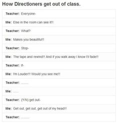 Hahaha I would do this but would probably be sent to the principles office....