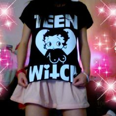Teen Witch Topless Betty Boop Tee