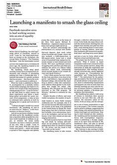 EPWN Paris : International Herald Tribune, Février 2013