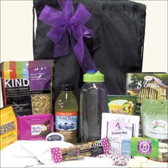 Caraway Gift Baskets - Fitness Guru: , $99.95 (http://carawaygiftbaskets.com/fitness-guru/) Do you know someone who is trying to get on the right track or better yet stay on the right track? Well, this gift is for them! Send them this unique Fitness Guru gift basket filled with everything they will need to get their workout.