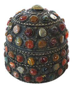 Moroccan Box with Semiprecious Stones