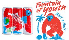 Fountain of Youth #Kokoswasser #Guerilla #Marketing