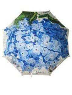 Umbrella: Hydrangea Blue | Floral | The Perfect Day