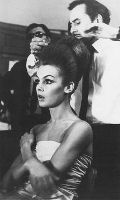 La modella inglese Jean Shrimpton,