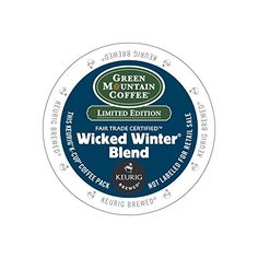 Green Mountain Fair Trade Wicked Winter Blend K-Cups 96ct