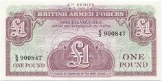 1 Pound O.D. (Militärgeld) Großbritannien Königreich