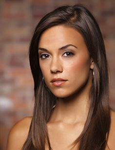 Jana Kramer - hairstyle.  Would love with red and caramel highlights.