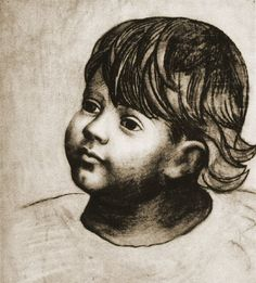 "Pablo Picasso - ""Portrait of Paulo"". 1923"