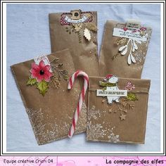 Christmas Envelopes, Christmas Bags, Christmas Holidays, Christmas Crafts, Pochette Surprise, Paper Crafts, Diy Crafts, Pocket Letters, Happy Mail