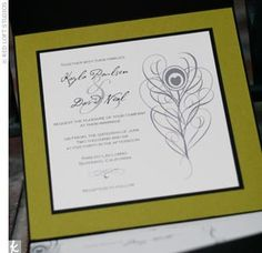 Real Weddings - Kayla & David: A Violet and Olive Wedding in Silverado, CA - The Invitation