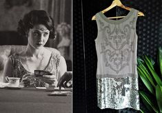 Flapper Dress Beaded Dress Sequin Dress Style Dress Gatsby Dress Peaky Blinders Dress Downton Abbey Dress Embellished Dress by STILLCHIC on Etsy 1930s Style Wedding Dresses, 1920s Fashion Dresses, 1920s Style, Gatsby Dress, 1920s Dress, Fabulous Dresses, Stunning Dresses, Embellished Dress, Sequin Dress