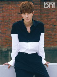 Super Junior Zhou Mi BNT International Magazine August 2015 Photoshoot