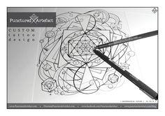 plant black and grey tattoo geometric - Google Search