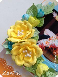 Мастер-класс Скрапбукинг Моделирование конструирование МК цветка А-ля магнолия   Бумага Клей фото 18