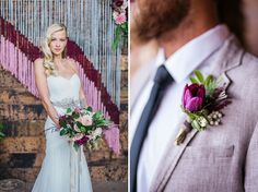 Crafty Wedding Inspiration in a Vintage Warehouse | Green Wedding Shoes Wedding Blog | Wedding Trends for Stylish + Creative Brides
