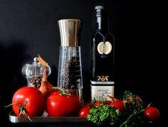 Mediterran, Lebensmittel, Tomaten -