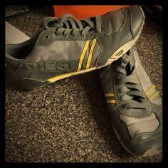 Diesel Shoes Men's Diesel sneakers. Worn a few times. Still like new. Diesel Shoes Flats & Loafers