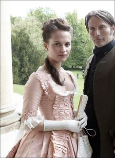 The dress was used again in the 2012 Danish film A Royal Affair (En kongelig affære), where it was worn on Alicia Vikander as Caroline Mathilde - a fact confirmed by the film's director Nikolaj Arce