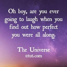 ":) | pinned and loved by www.intuitivekb.com (I kinda figured this cosmic joke out in my 40's. I started out perfect at birth, lived life and was influenced by other people & their ""stuff"", and by the time I grew dissatisfied with life and went on a soul searching, I had alot of baggage I had to check at the front desk. And just when you think you've checked it all, there's more that security found on you at the gate. But now I accept my flaws and scars.)"
