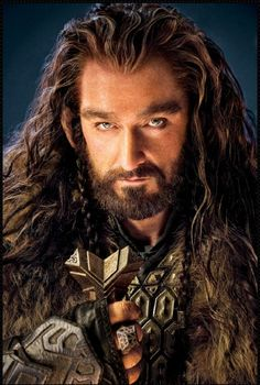 The sexiest dwarf I have EVER seen. Richard as revered dwarf warrior, Thorin Oakensheild in the upcoming movie of The Hobbit.