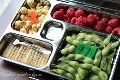 PlanetBox Review and Giveaway - Lunchbox Ideas for kids from @familyfresh