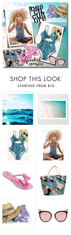 """Cupshe"" by pesanjsp ❤ liked on Polyvore featuring Melissa, Emilio Pucci and Stephane + Christian"