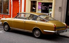 Sunbeam Rapier. I thought this was such a cool looking car.