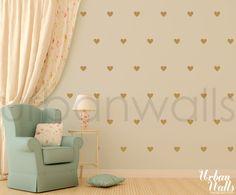 Little Hearts - Urban Walls - Designs By Danielle Hardy